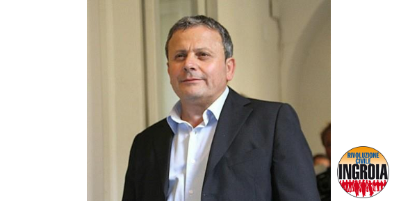 Sergio D'Angelo, Rivoluzione Civile
