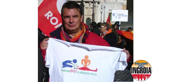 Mario Galasso, Rivoluzione Civile