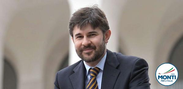 Andrea Olivero, Con Monti per l'Italia