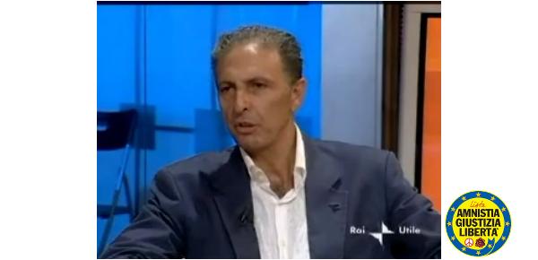 Giorgio Pagano, Amnistia Giustizia e Libertà
