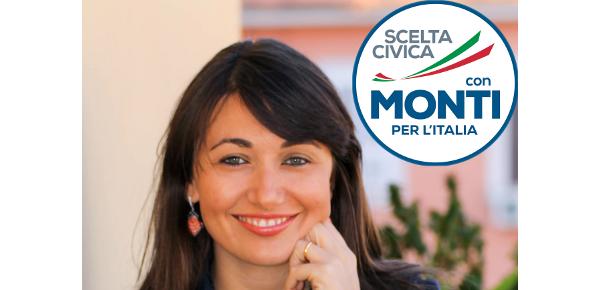 Valentina Ferraboschi, Scelta Civica con Monti per l'Italia